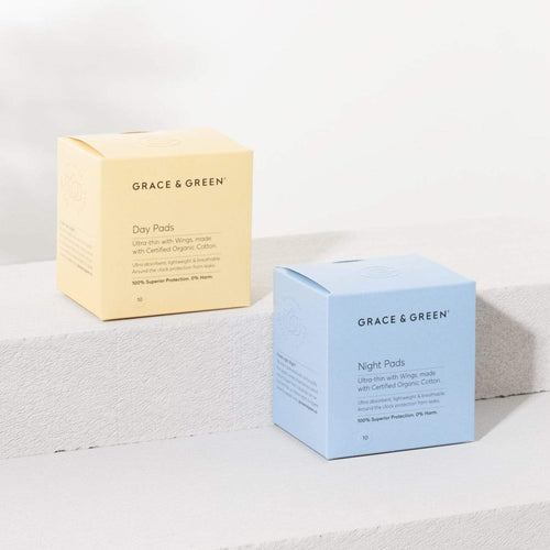 Grace & Green-Organic Pads | Night