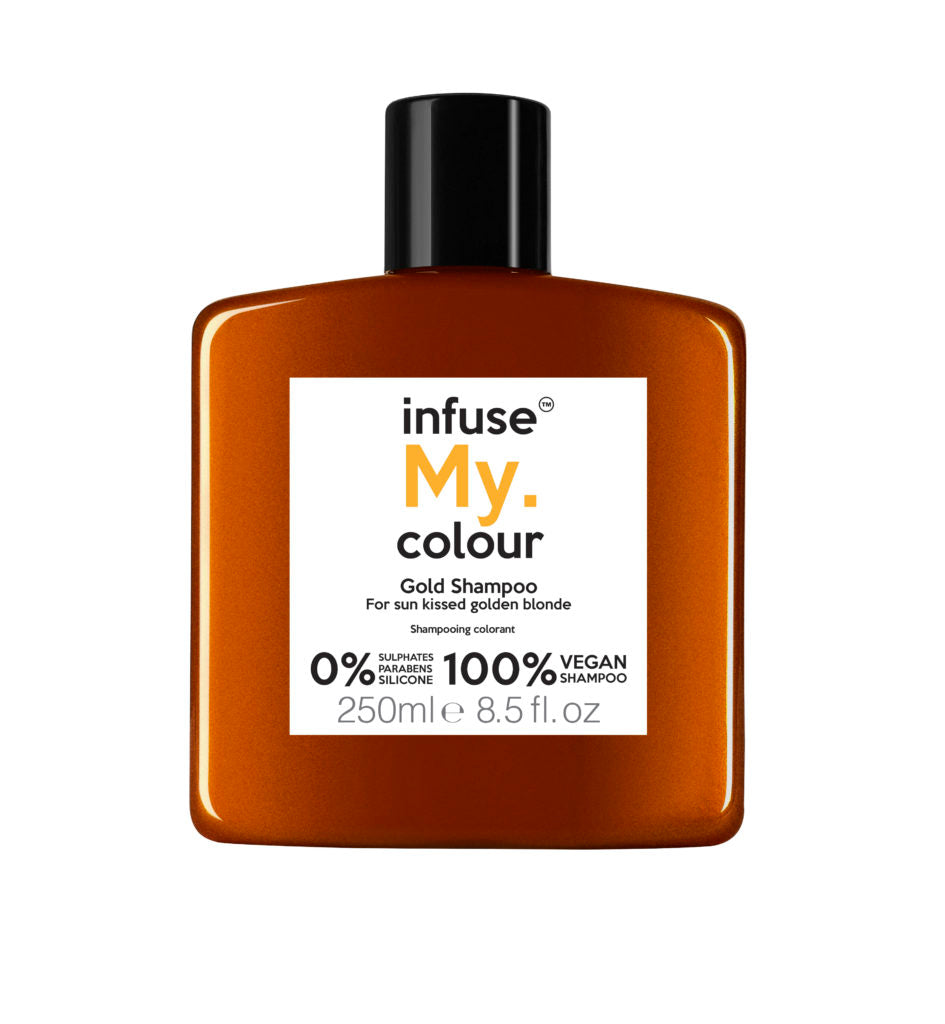 My.HairCare-Infuse My.Colour Shampoo | Gold - The Cruelty Free Beauty Box
