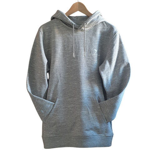 Freedm Street Apparel-Unisex Logo Hoodie | Wooden Heather