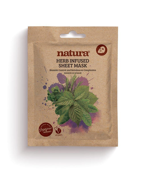 Natura-Herb Sheet Mask - The Cruelty Free Beauty Box