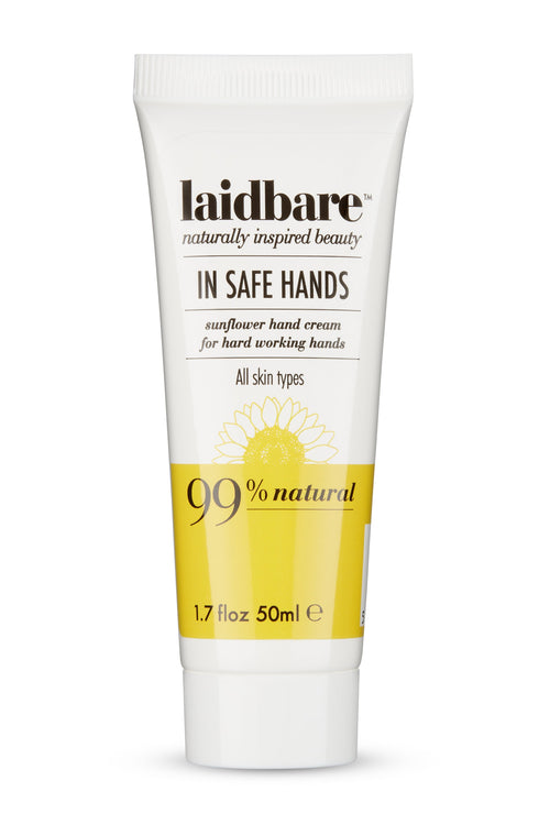 Laidbare-In Safe Hands Sunflower Hand Cream
