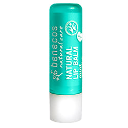 Benecos-Lip Balm | Mint - The Cruelty Free Beauty Box