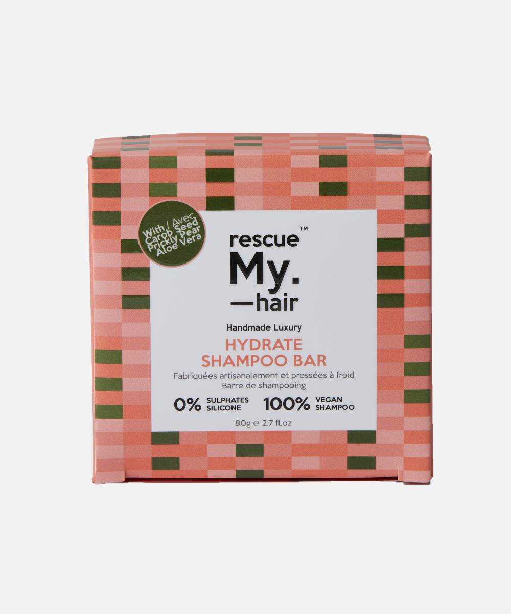 My.HairCare-Rescue My.Hair Shampoo Bar | Hydrate - The Cruelty Free Beauty Box