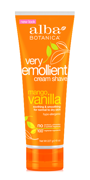 Alba Botanica-Very Emollient Cream Shave | Mango Vanilla - The Cruelty Free Beauty Box
