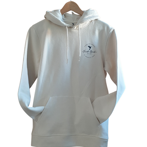 Freedm Street Apparel-Unisex Logo Hoodie | Natural Raw