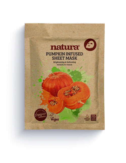 Natura-Sheet Mask | Pumpkin - The Cruelty Free Beauty Box