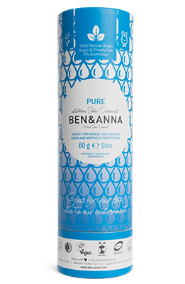 Ben & Anna-Deodorant Stick 'Pure' - The Cruelty Free Beauty Box