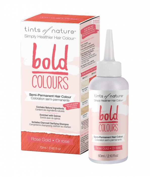 Tints of Nature-Bold Colours | Rose Gold