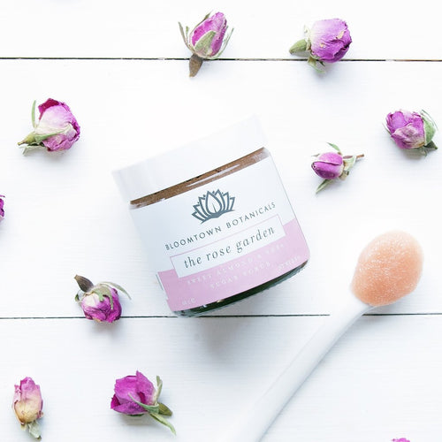 Bloomtown-Sugar Scrub 'The Rose Garden' - The Cruelty Free Beauty Box