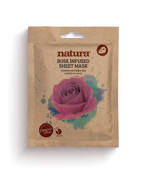 Natura-Rose Sheet Mask - The Cruelty Free Beauty Box