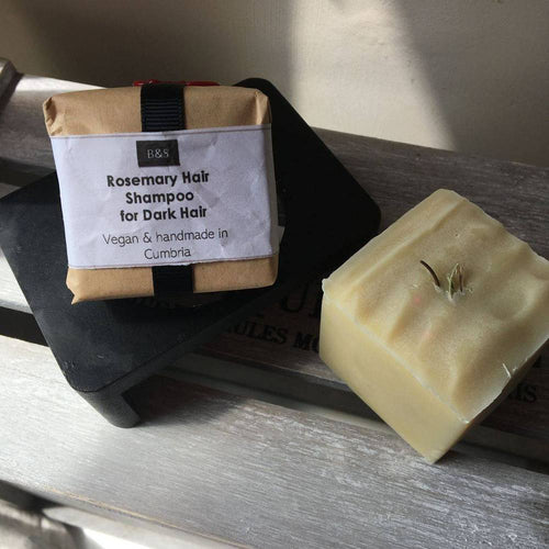 Bain & Savon-Rosemary Shampoo Bar 'Dark Hair' - The Cruelty Free Beauty Box