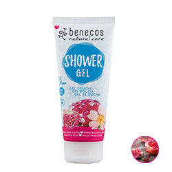 Benecos-Natural Shower Gel | Pomegranate & Rose - The Cruelty Free Beauty Box