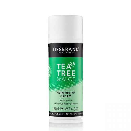 Tisserand Aromatherapy-Tea Tree & Aloe Skin Relief Cream
