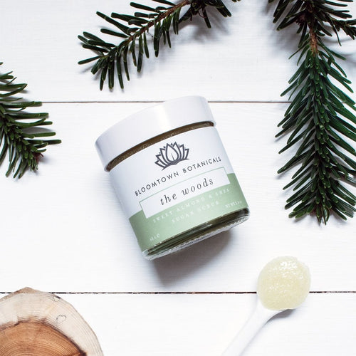 Bloomtown-Sugar Scrub 'The Woods' - The Cruelty Free Beauty Box