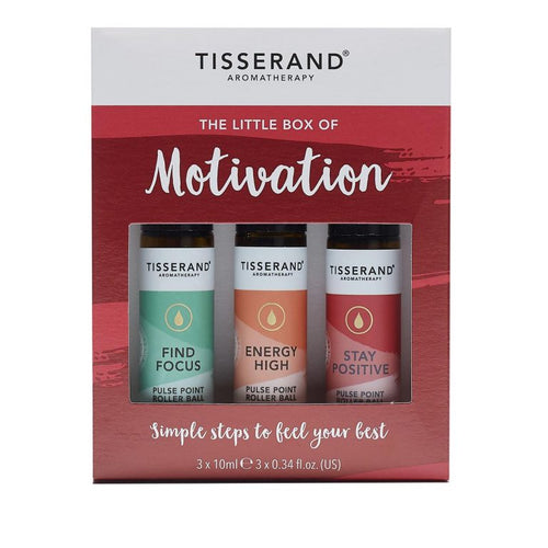 Tisserand Aromatherapy-The Little Box of Motivation