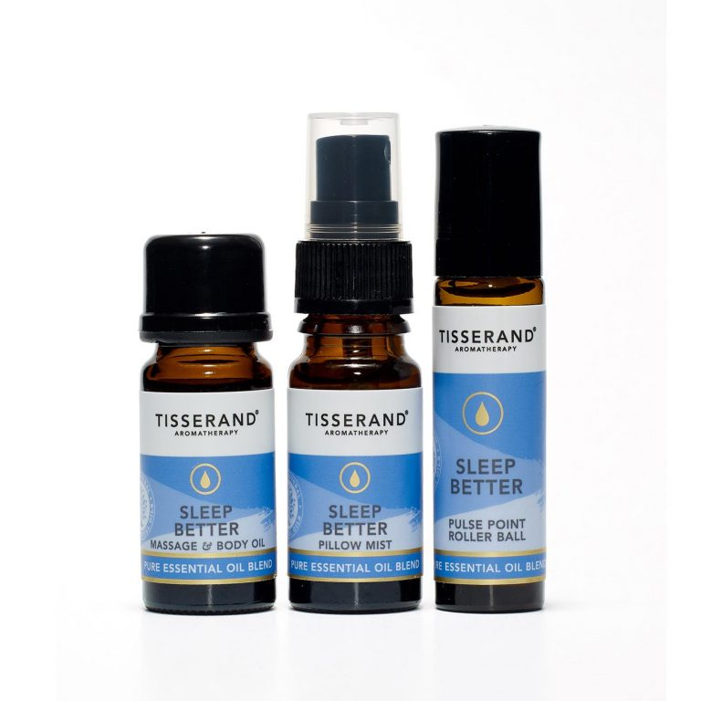 Tisserand Aromatherapy-3 Step Ritual To Sleep Better - The Cruelty Free Beauty Box