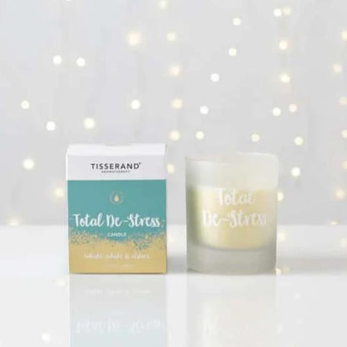 Tisserand Aromatherapy-Total De Stress Candle - The Cruelty Free Beauty Box