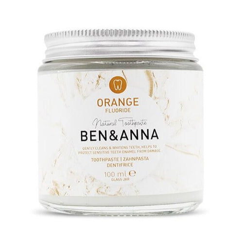 Ben & Anna-Orange Natural Toothpaste | With Fluoride