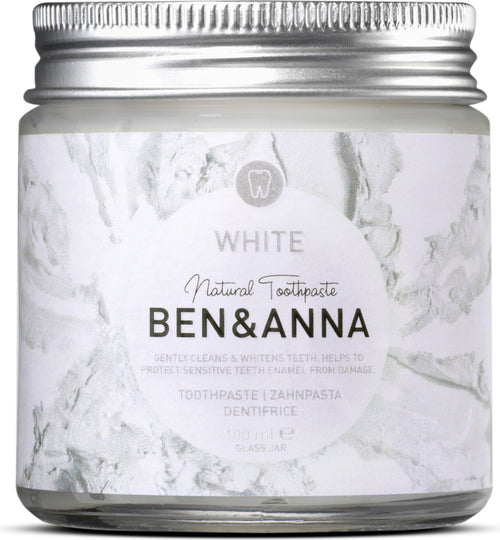 Ben & Anna- White Natural Toothpaste - The Cruelty Free Beauty Box