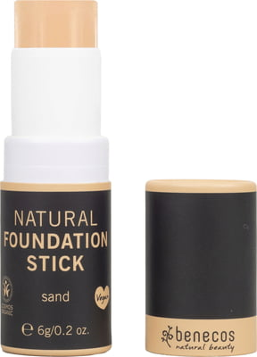 Benecos-Natural Foundation Stick | Sand - The Cruelty Free Beauty Box