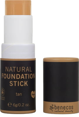 Benecos-Natural Foundation Stick | Tan - The Cruelty Free Beauty Box