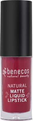 Benecos-Natural Matte Liquid Lipstick | Bloody Berry - The Cruelty Free Beauty Box