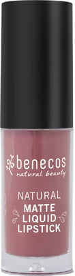 Benecos-Natural Matte Liquid Lipstick | Rosewood Romance - The Cruelty Free Beauty Box