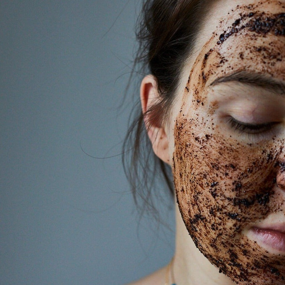 UpCircle-Coffee Face Scrub | Floral Blend