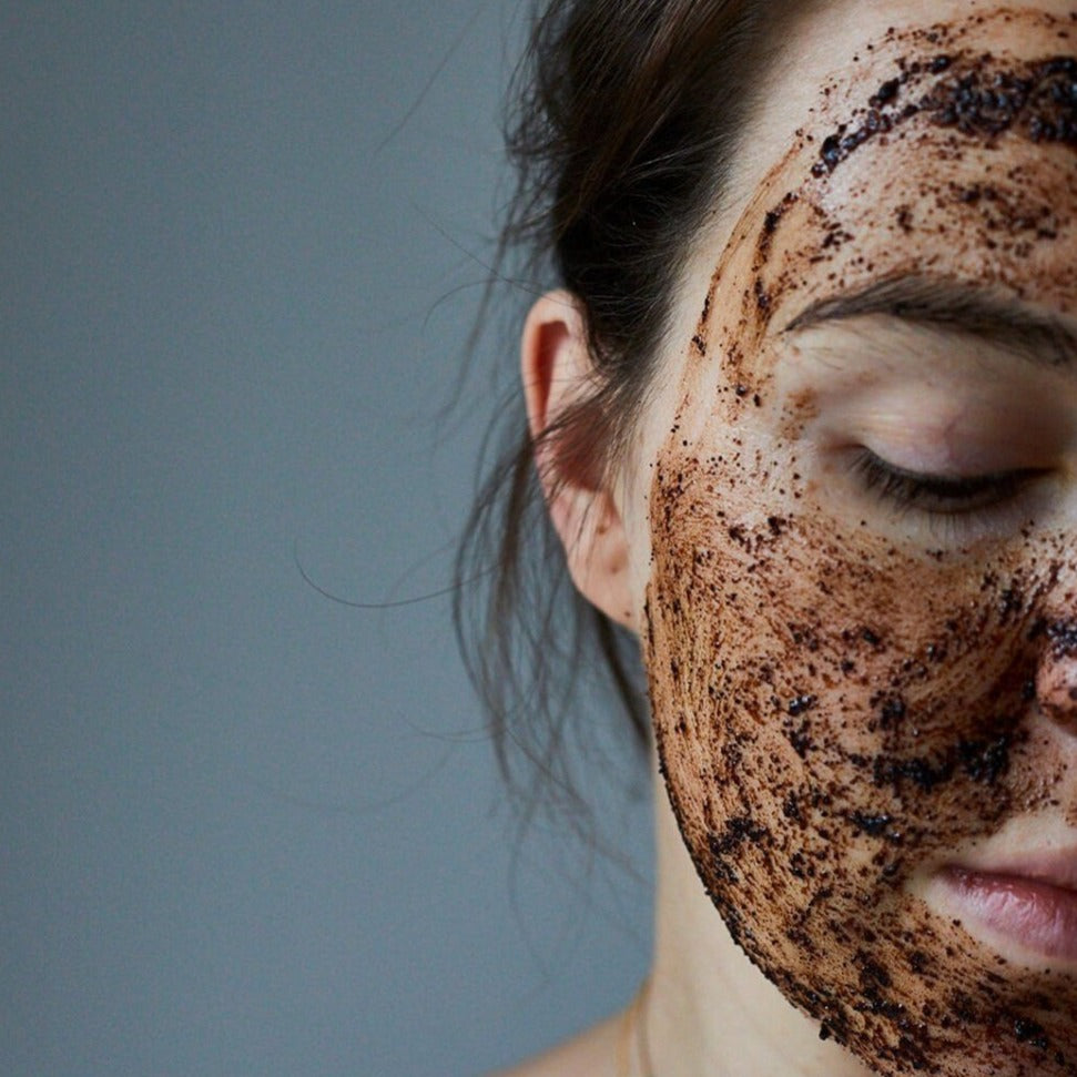 UpCircle-Coffee Face Scrub | Herbal Blend