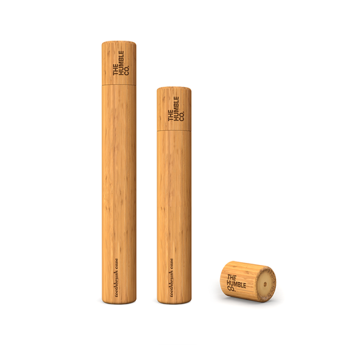 The Humble Co.-Bamboo Toothbrush Case