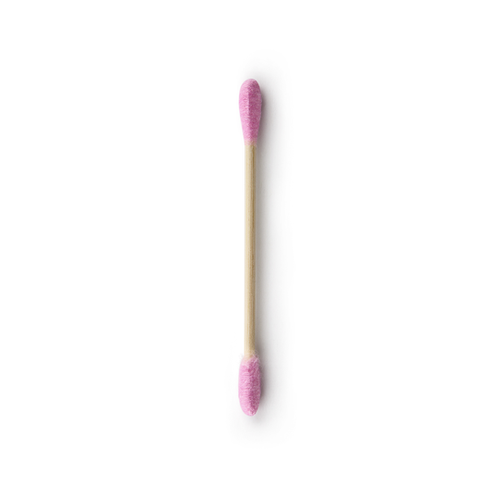 The Humble Co.-Natural Cotton Swabs | Purple | x100