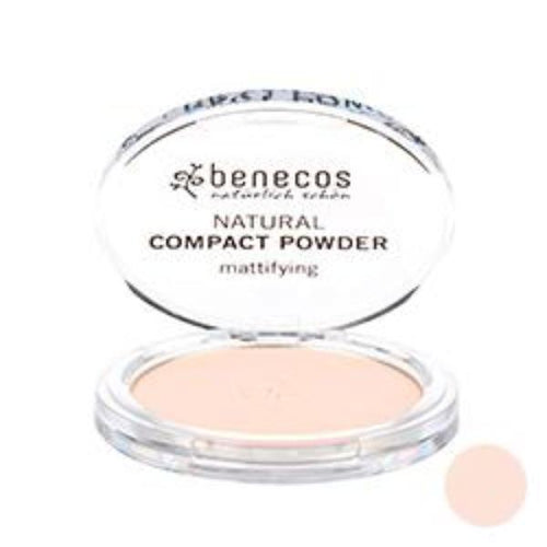 Benecos-Compact Powder 'Fair' 9g - The Cruelty Free Beauty Box