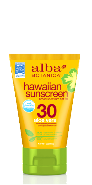 Alba Botanica-Hawaiian Aloe Vera Sunscreen | SPF30 - The Cruelty Free Beauty Box