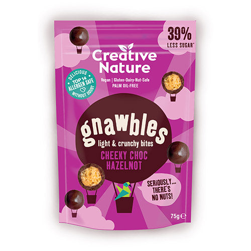 Creative Nature-Light & Crunchy Gnawbles | Cheeky Choc Hazelnot | Vegan