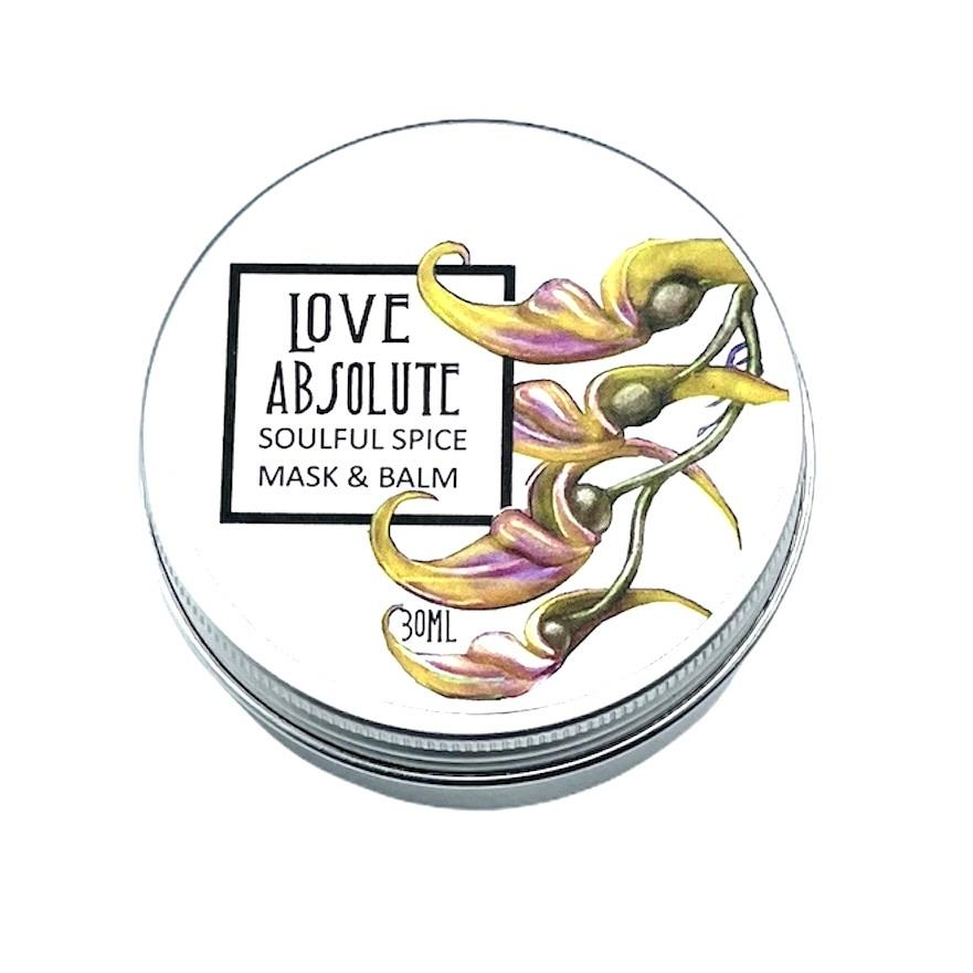 Love Absolute-Soulful Spice Cleansing & Exfoliating Balm