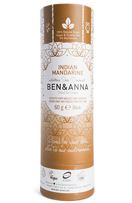 Ben & Anna-Deodorant Stick 'Indian Mandarine' - The Cruelty Free Beauty Box