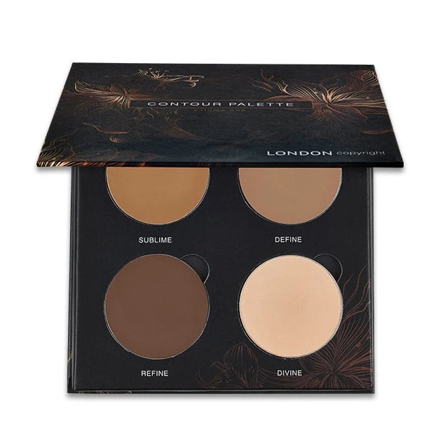 London Copyright-Magnetic Face Powder Palette | Contour - The Cruelty Free Beauty Box