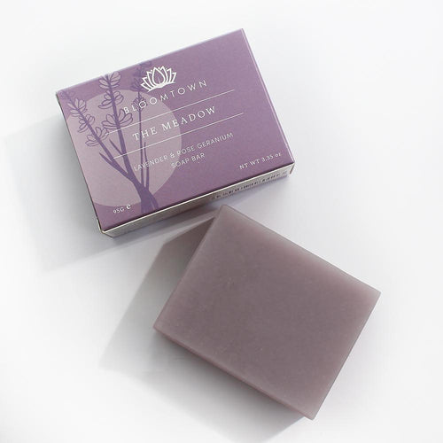 Bloomtown-Nourishing Soap Bar | The Meadow - The Cruelty Free Beauty Box