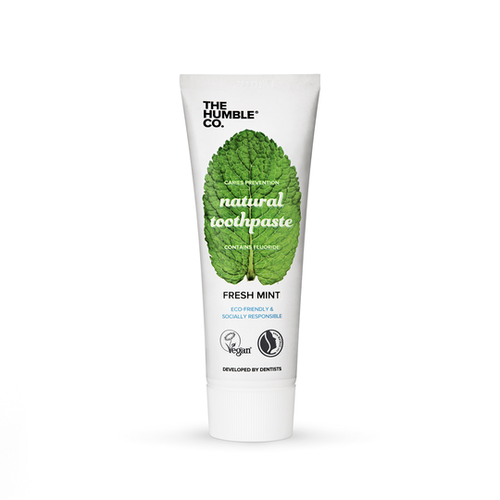 The Humble Co.-Natural Toothpaste | Fresh Mint with Fluoride - The Cruelty Free Beauty Box