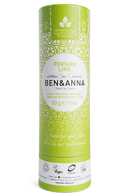 Ben & Anna-Deodorant Stick 'Persian Lime' - The Cruelty Free Beauty Box