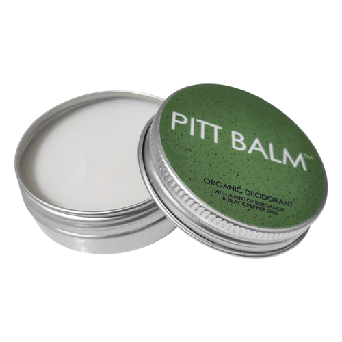 Pitt Balm Plastic Free and Vegan Deodorant | Bergamot & Black Pepper for Men