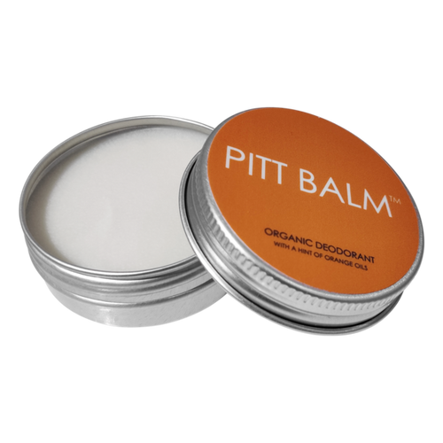 Pitt Balm Plastic Free and Vegan Deodorant | Orange for Men and Women