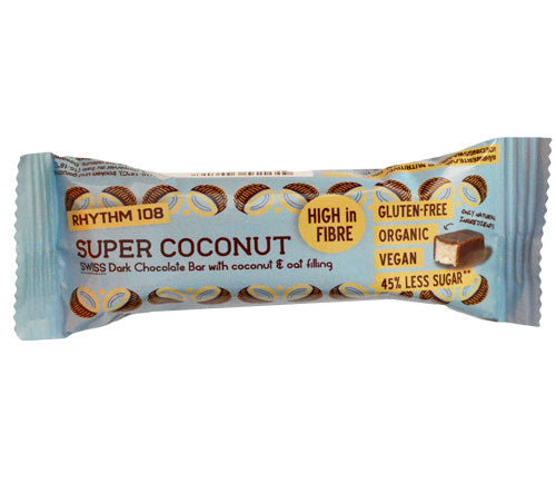 Rhythm 108-Swiss Chocolate Bar | Super Coconut