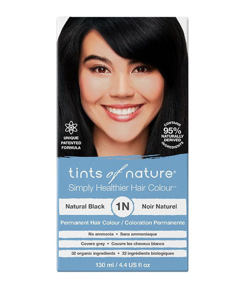 Tints of Nature-Permanent Hair Dye | 1N Natural Black