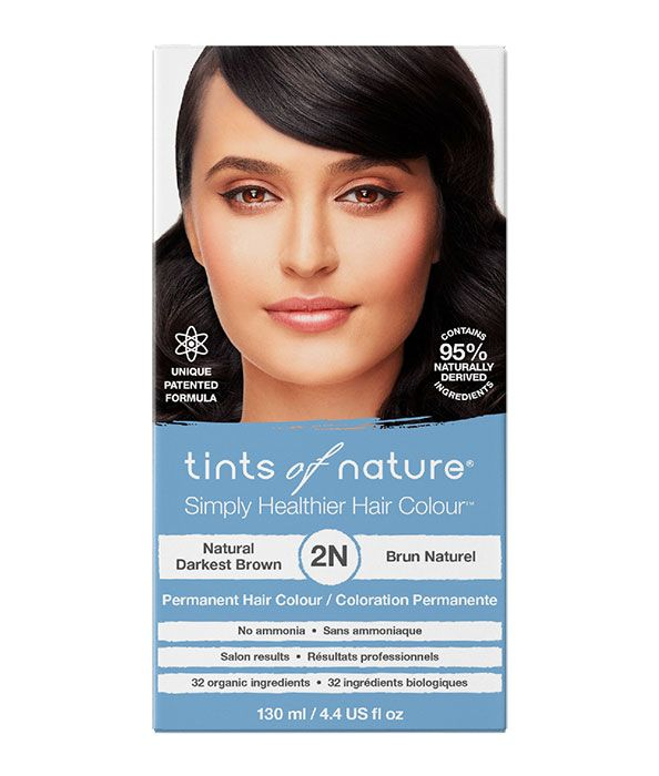 Tints of Nature-Permanent Hair Dye | 2N Natural Darkest Brown