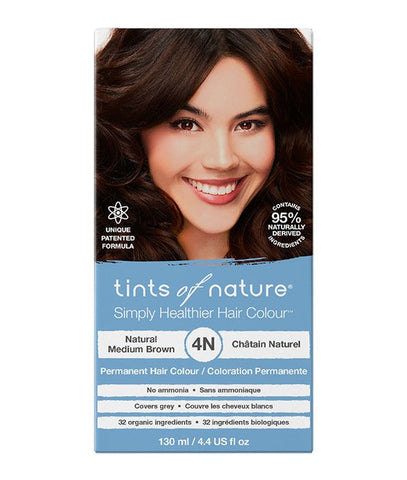 Tints of Nature-Permanent Hair Dye | 3N Natural Dark Brown