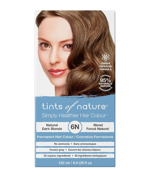 Tints of Nature-Permanent Hair Dye | 6N Natural Dark Blonde