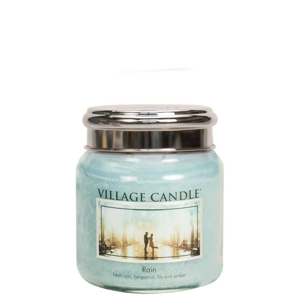 Rain Village Candle 16oz Scented Candle Jar - Mood Essential Oils