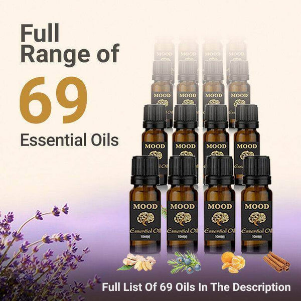 69 Essential Oils Full Range 69 Bottles Delivered! Quick Buy Mood Essential Oils - Mood Essential Oils
