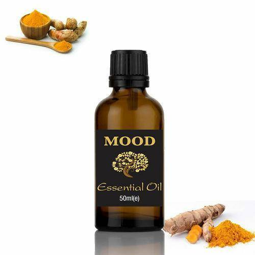 Turmeric Essential Oil 50ml Natural Aromatherapy Essential Oils Diffuser Burner - Mood Essential Oils
